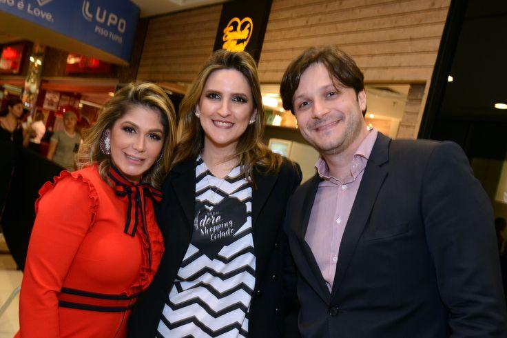 Fernanda Bacha, Anna Emília Gaetani e José Guilherme Chaves