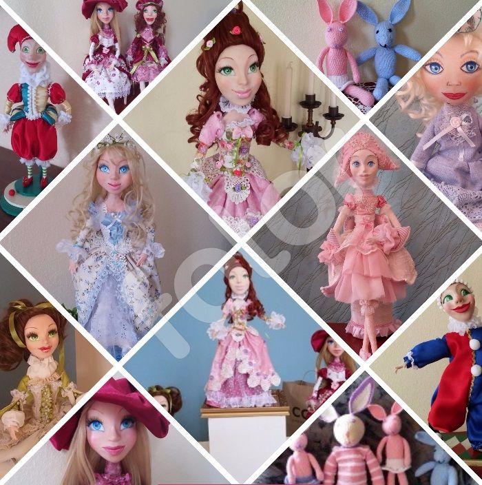 Куклы от Татьяны Никитиной. Dolls.