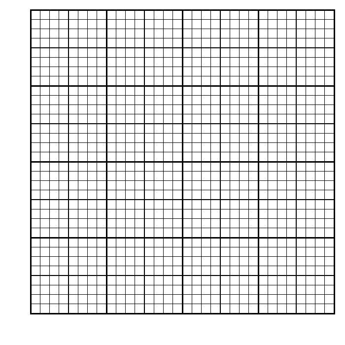 40 x 40 graph paper