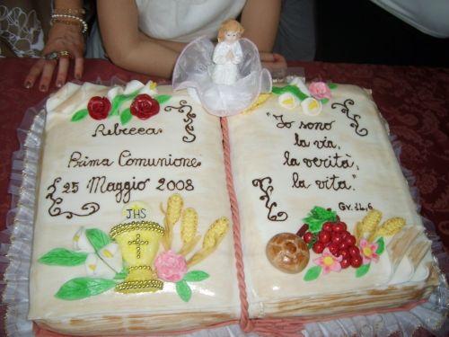 How To Make A Communion Cake