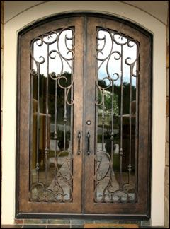 Wrought Iron Gates fences railing wrought bed wood and iron door direct from Bali & 10 best Steel Grille images on Pinterest | Wrought iron French ...