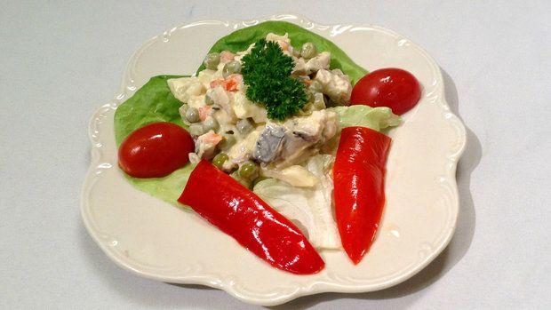 Nikdo nechtěl panu Zábojovi věřit, že jeho rybí salát podle vlastního receptu pochází z kapra.