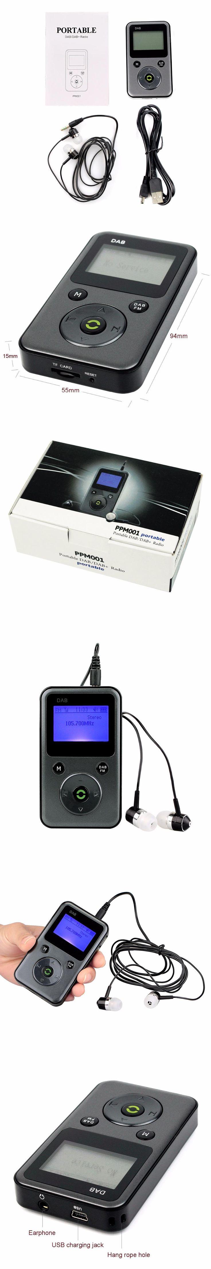 Portable Digital DAB/DAB Radio FM Radio Stereo Receiver REC Recorder Lossless Music Player Automatic Search Local DAB Y4107H