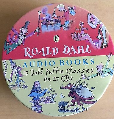 #Roald dahl #audio book 27 cd set,  View more on the LINK: http://www.zeppy.io/product/gb/2/301912250800/