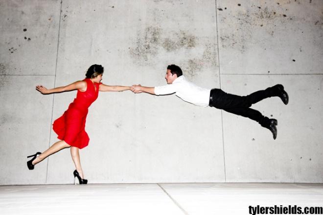 Jenna Ushkowitz and Micheal Trevnio used to date.~Tyler Shields Photography. #Glee #TVD