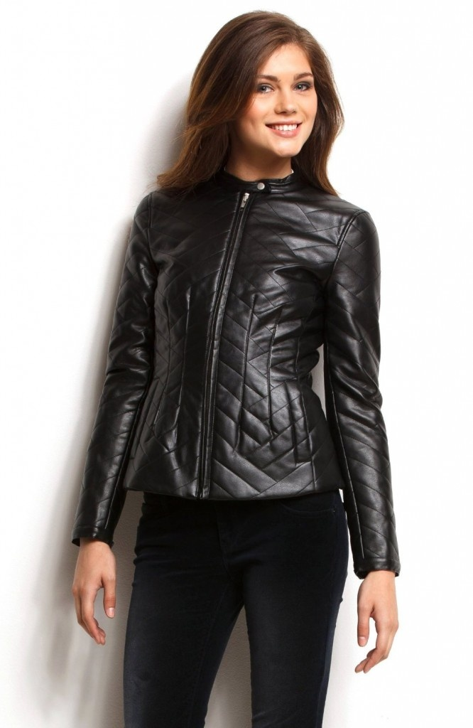 Quilted Leather Jacket.. Read More Products... Leather