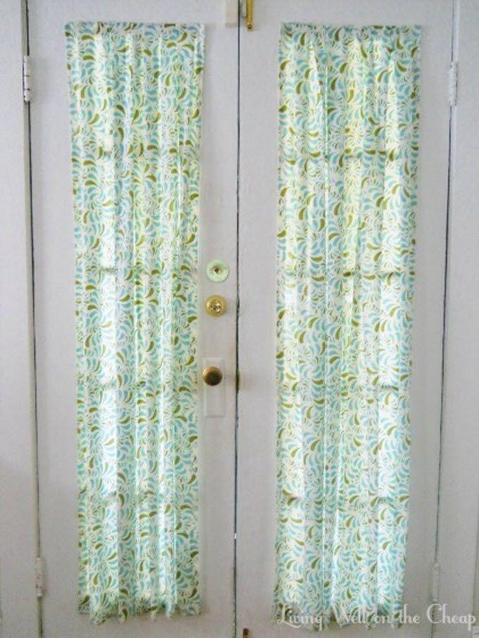 19 Creative Curtains And Drapes To Make In 2020 Front Door Curtains Door Curtains Door Curtains Diy