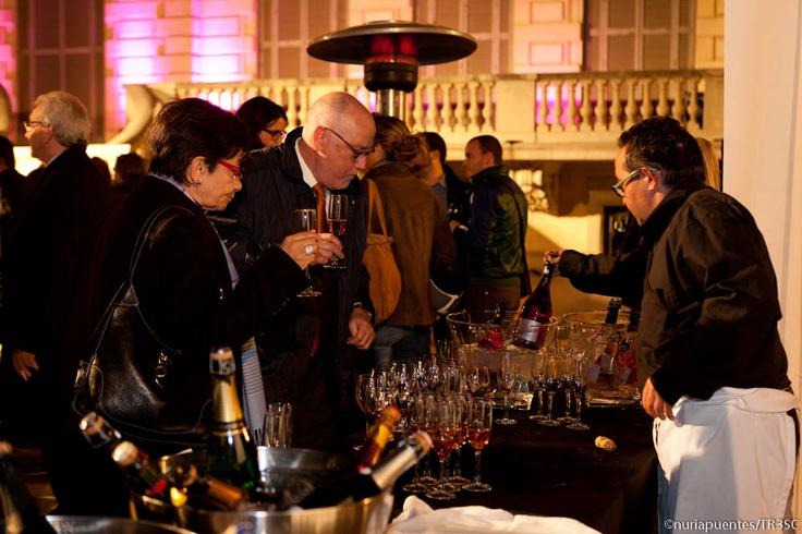 Codorniu en la inauguración del área de vinos del Club TresC