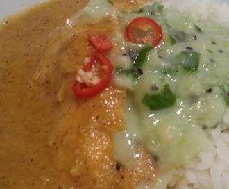 Recipe Kiwifruit Chicken Korma Curry by Kobi Steedman - Recipe of category Main dishes - meat