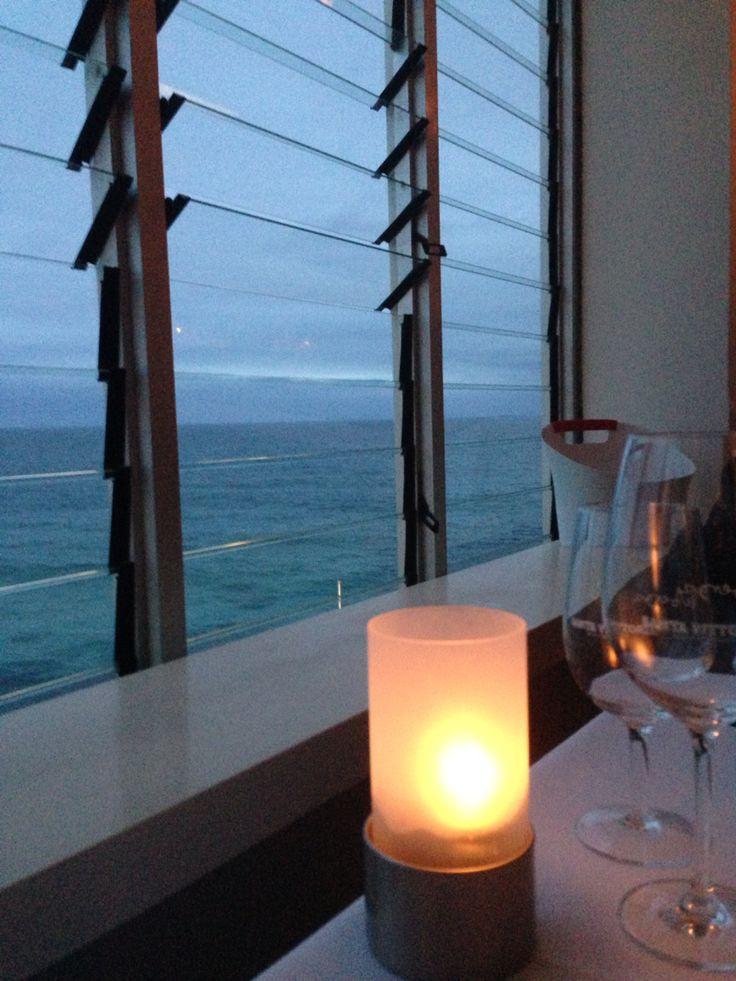 Dinner at Icebergs, Bondi