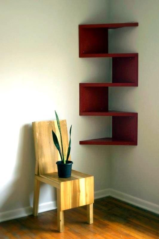 This serpentine shelf will help you use your space efficiently... and, it comes in a variety of great colors!