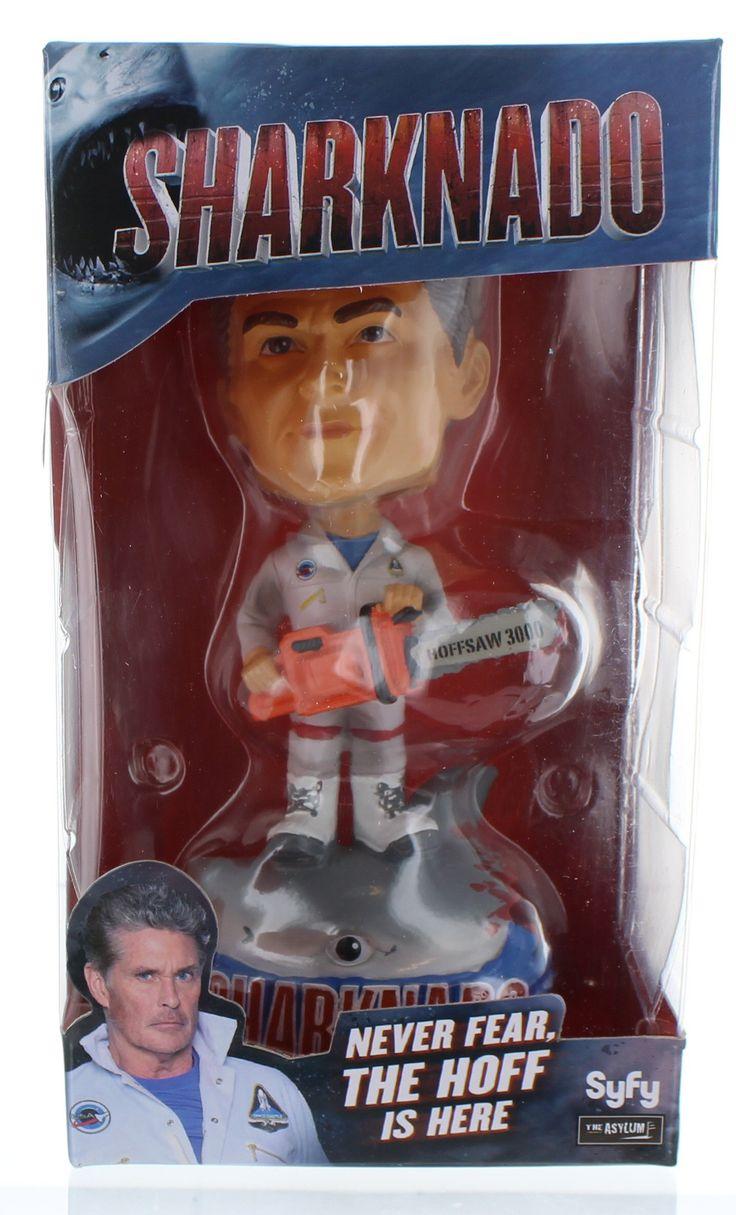 """Sharknado 7"""" Bobblehead Sharknado vs. The Hoff (David Hasslehoff)"""