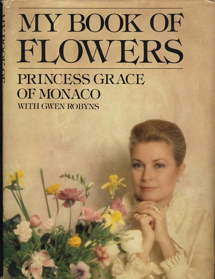 My Book of Flowers by Princess Grace of Monaco with Gwen Robyns. $8.00, via Etsy.