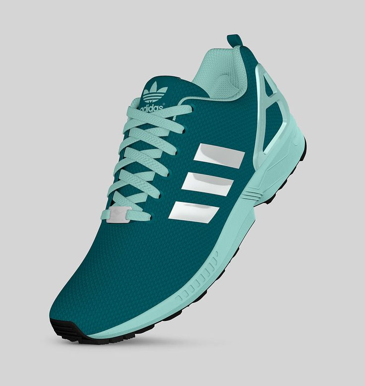 Adidas ZX Flux (Power Teal/Frost Mint)