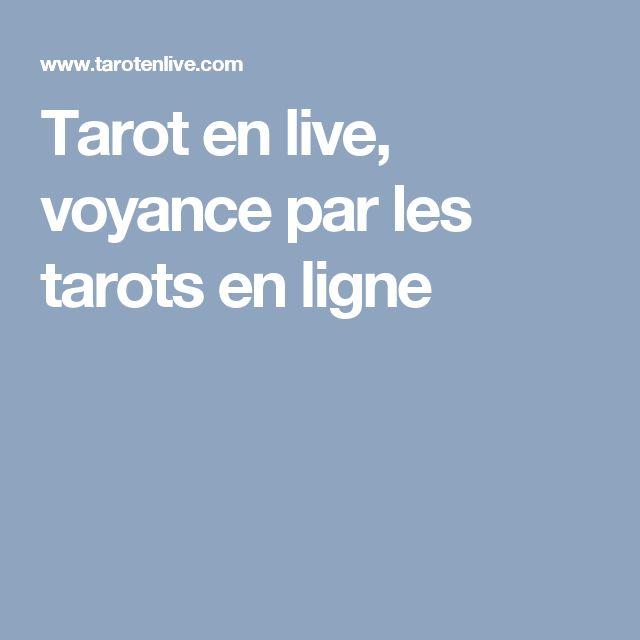 Tarot en live, voyance par les tarots en ligne
