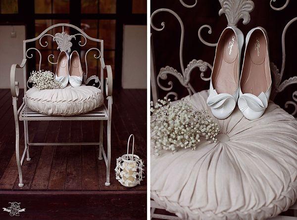 белые свадебные туфли #wedding #shoes #white