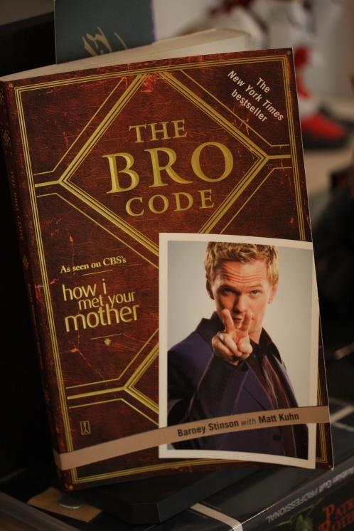 Barney Stinson - The Bro Code