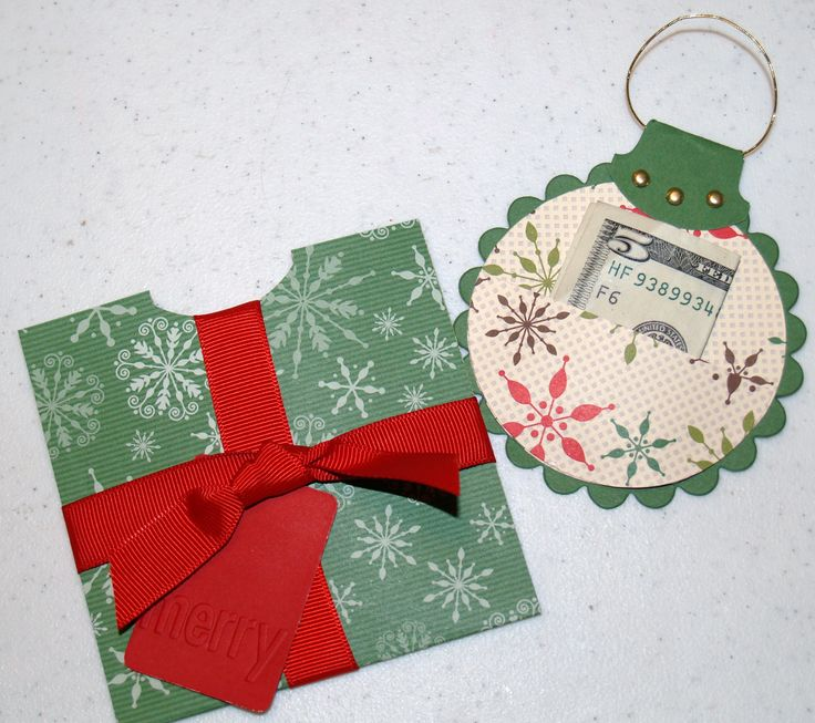 12/16; Kathy Alt at 'Kathy's Stamping World' blog using SU products; instructions provided; Gift Money Holder