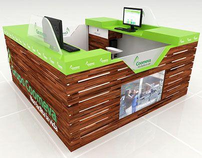 Coomeva - Isla 360º para Centros Comerciales