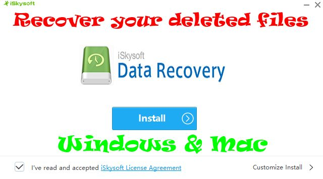 How to Recover your deleted files from Windows and Mac