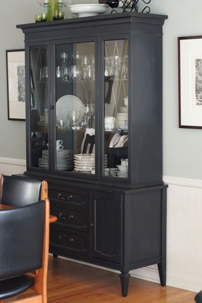 I think I want a nice modern China cabinet