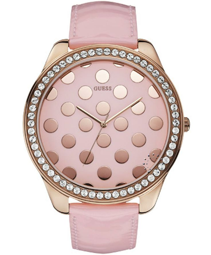 GUESS Crystal Pink Leather Strap Μοντέλο: W0258L3 Η τιμή μας: 152€ http://www.oroloi.gr/product_info.php?products_id=37500
