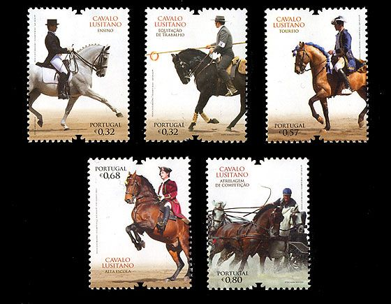 The Lusitano Horse Sets