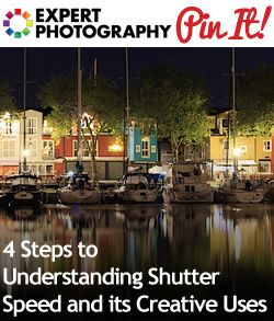 4 Steps to Understanding Shutter Speed and its Creative Uses | General Tips & Techniques | Pinterest | Shutter speed, Photography and Photography Tips