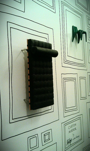 Around Town: A shop called Design Lab - Mesa AZ - Inside their WC: A different type of gallery wall: Frames Wallpaper