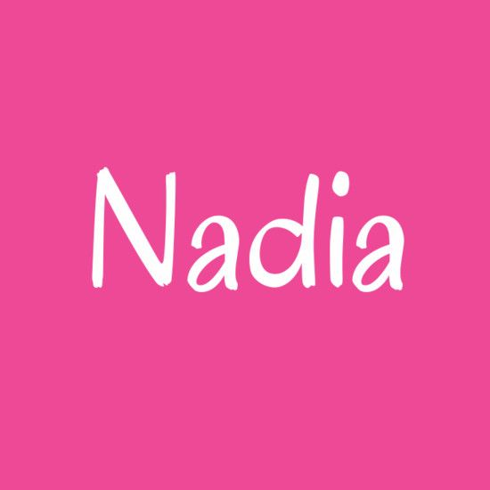 Nadia - Cool Baby Names That Aren't Super Popular - Nadia is a Russian and Slavic name that means 'hope.'