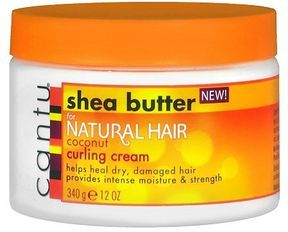Cantu Shea Butter Coconut Curling Cream (Not CG, has petroleum) (Protein: 10th to last ingredient is Silk Amino Acids)