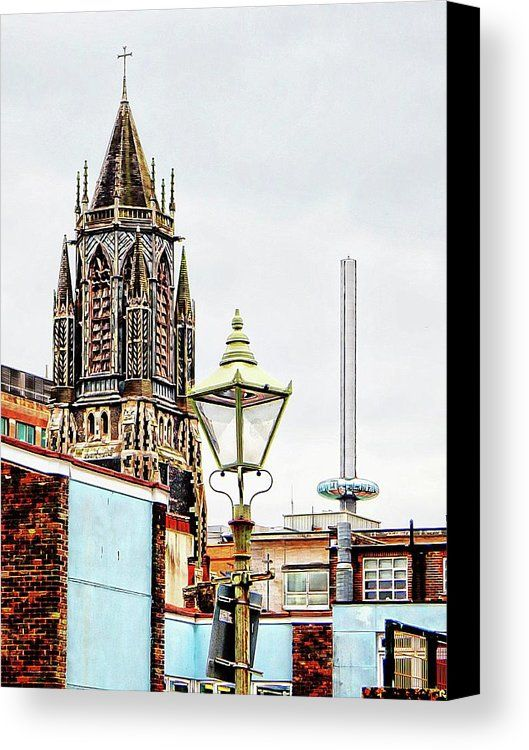 Spiritual Viewpoint Canvas Print featuring the photograph A Spiritual Viewpoint Brighton by Dorothy Berry-Lound