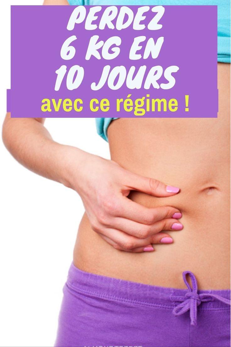 Perdez 6 kg en 10 jours avec ce régime !   Séances d ...