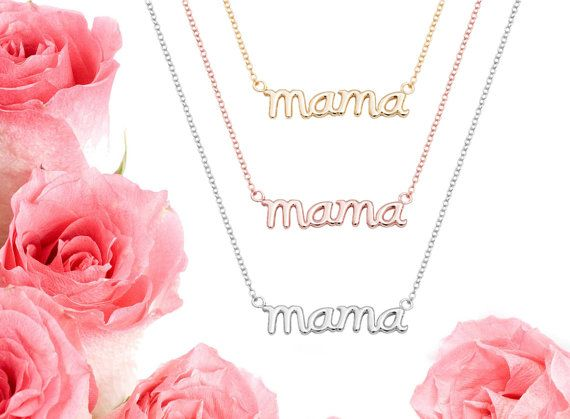 Mothers Necklace Mother's Day Necklace Mama by iPreciousgr on Etsy