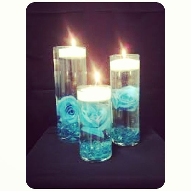💙 these candles