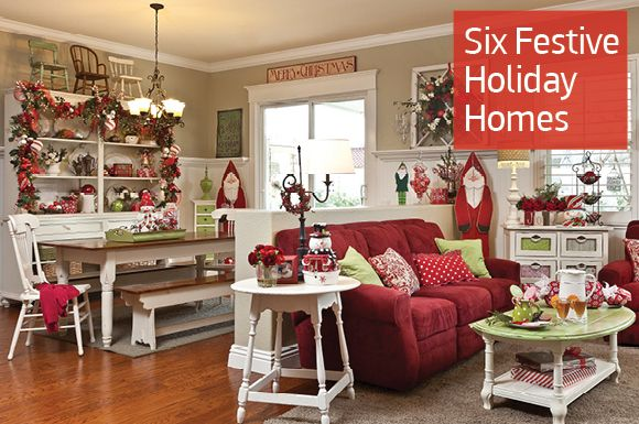 Country Sampler Christmas Decorating Ideas : Country sampler christmas for the home