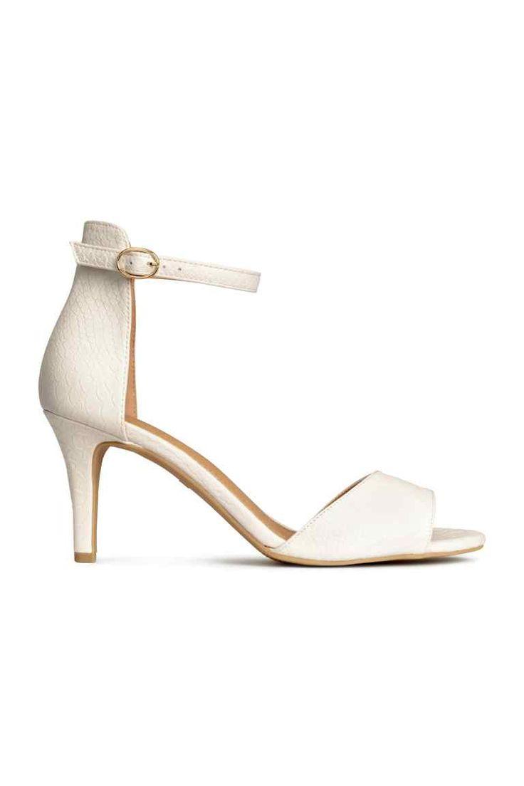 Sandały 79,90 PLN KOLOR: Biały   H&M