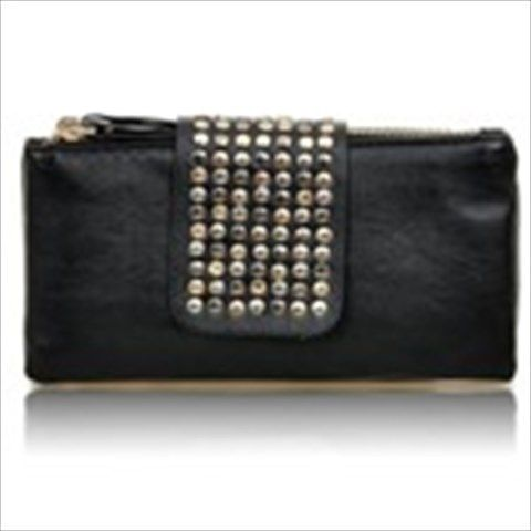 Faux Leather Purity Rivets Handbags  $11.76