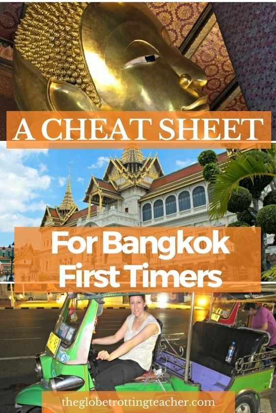 A Cheat Sheet For Bangkok First Timers- Thailand's capital city is a can't miss on a trip to Thailand and Southeast Asia. This guide has the tips and advice you need to manage this amazing city! #travel #Thailand #Asia #Bangkok #bucketlist #bucketlisttravel