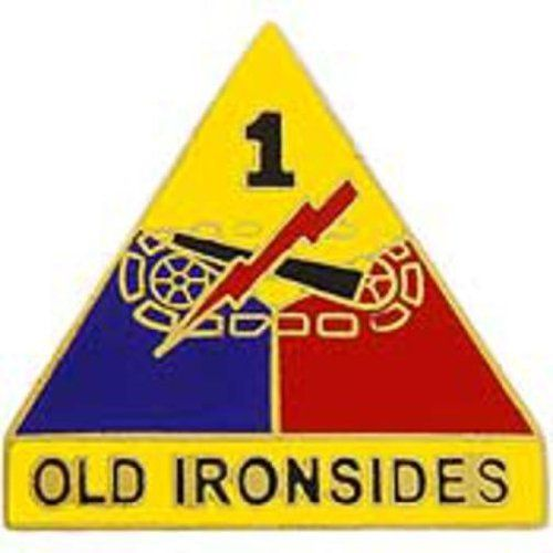 """U.S. Army 1st Armored Division Pin 1"""" by FindingKing. $8.99. This is a new U.S. Army 1st Armored Division Pin 1"""""""