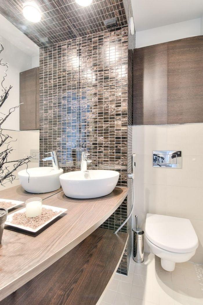 Kleines Badezimmer Fliesen Ideen Cremefarbene Grosse Wandfliesen