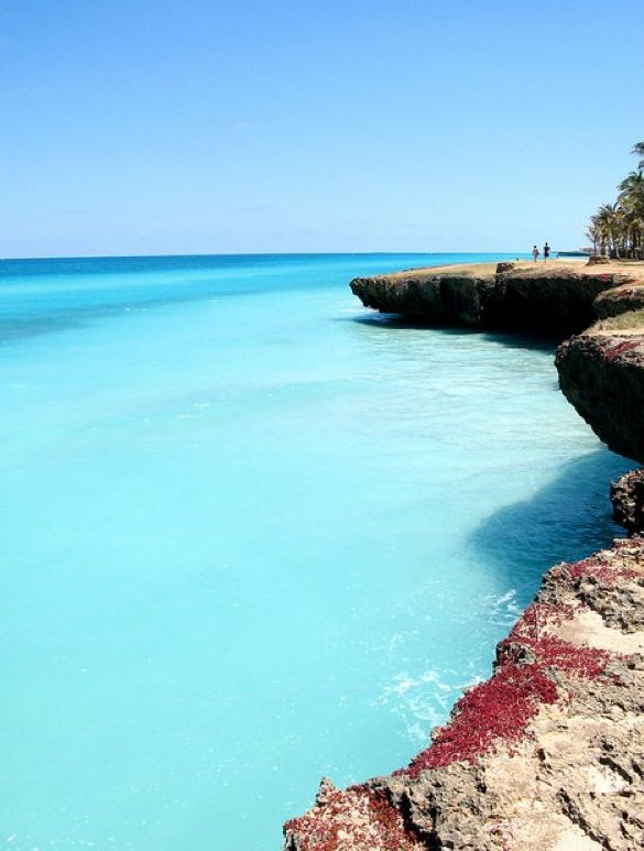 Sea Cliffs, Varadero, Cuba - 101 Most Beautiful Places You Must Visit