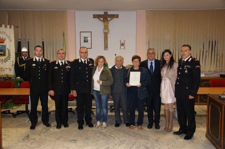 Grottaglie: encomio solenne per il carabiniere morto in servizio