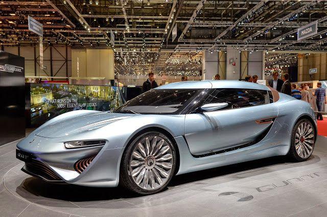 Tesla zal waarschijnlijk rood aanlopen van jaloezie bij het zien van deze auto die op zout water loopt. Deze auto heeft 4 elektrische motoren en kan 350 km per uur halen. Tanken bij het pompstation...