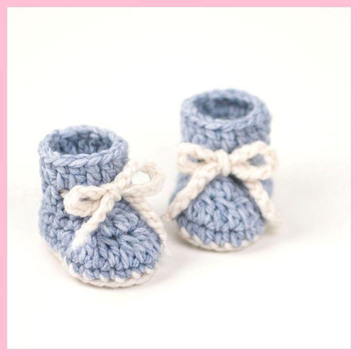 Creatieve ideeën – DIY schattige haak blauwe walvis baby booties,  #blauwe #boo…