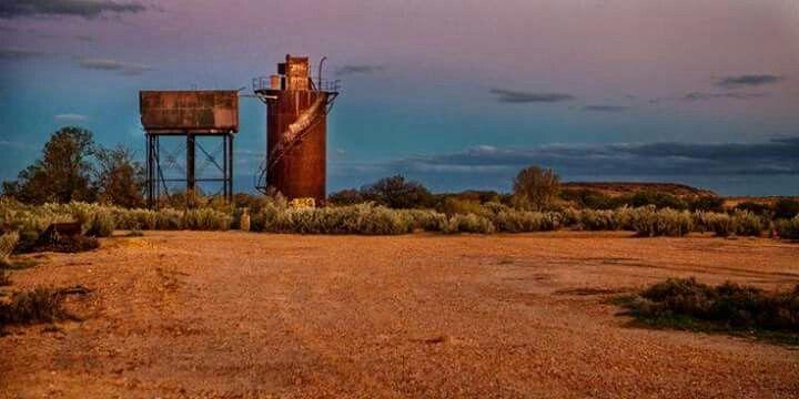 Old Ghan Railway Siding South Australia: