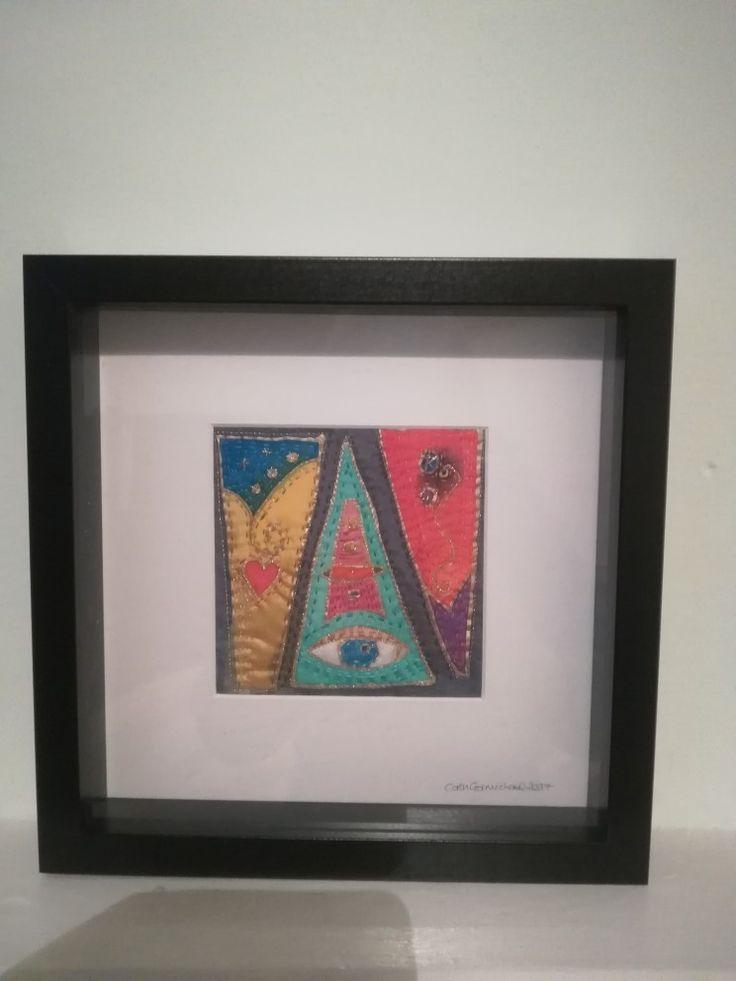 Manchester based textile artist Cath Carmichael