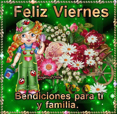 SUEÑOS DE AMOR Y MAGIA: Feliz Viernes bendiciones.