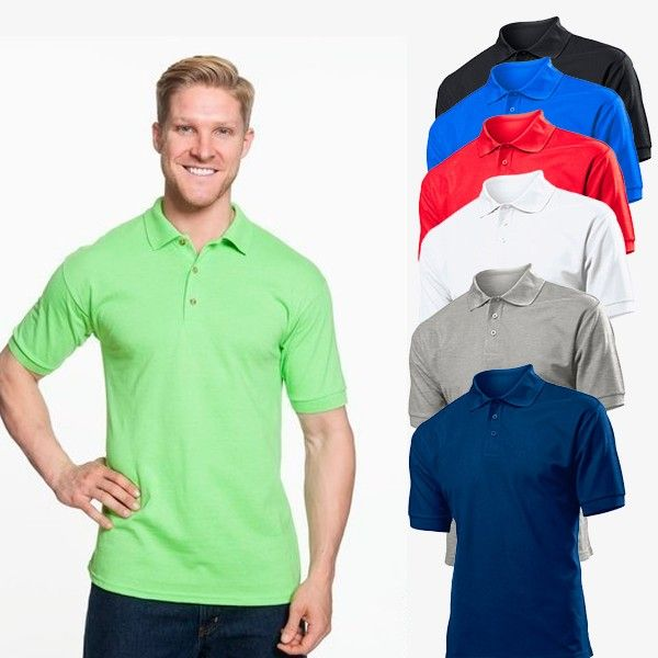 Look FRESH with Gildan Dry Blend Jersey  POLO SHIRT – • DryBlend Moisture Wicking Fabric • Heat Transfer Neck Label • Care Label In Bottom Hem • Contoured Welt Collar & Cuffs • 3 Woodtone Buttons • Clean Finished Placket With Reinforced Bottom Box  Price: £6.31  Read here: http://goo.gl/NlMHUI