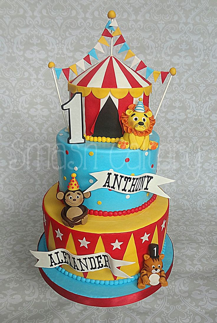best 25 circus birthday cakes ideas on pinterest circus cakes